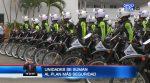 VIDEO |  El Gobierno entregó 50 motocicletas para el 'Plan Más Seguridad' en Guayaquil
