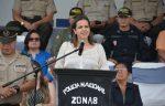 """Ministra Romo: """"La Policía Nacional el año pasado detuvo a más de 100 mil personas"""""""