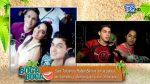 VIDEO | Así se dieron las fotos entre Sara Toscano, su novio Rafael Barrios y su ex Rogger Guillén