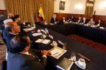 Presidente Moreno se reúne con sectores sociales para analizar la situación económica del país