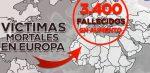 Europa superó a Asia en muertes por coronavirus