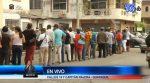 Jubilados hacen largas filas para cobro de pensiones en Guayaquil
