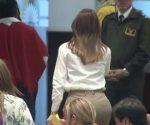 Galarza salió del pleno de la Asamblea sin dar declaraciones