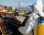 VIDEO | Se realiza desinfección de taxis en Quito