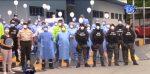 Manabí: Profesionales de salud recibieron un homenaje por su labor ante la emergencia sanitaria