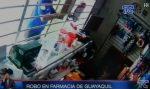 VIDEO: Así asaltan una farmacia en Guayaquil en  plena emergencia sanitaria
