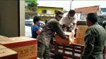 Fuerzas Armadas facilita la entrega de kits de alimentos
