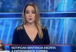 VIDEO: Notifican por escrito ocho años de prisión al expresidente Rafael Correa por delito de cohecho