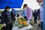 """Autoridades de Gobierno supervisaron """"Feria de la Mata a la Mesa"""", garantizando medidas de bioseguridad y precios justos"""