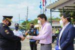 Vicepresidente Otto Sonnenholzner agradeció a los agentes de tránsito por su trabajo en la emergencia sanitaria