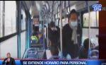 VIDEO: Se amplían horarios de transporte para sectores estratégico