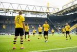 VIDEO| Sin públicos ni abrazos, pero con goleada: Así fue el primer partido de la Bundesliga