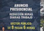 VIDEO | Se anunció reducción de jornada laboral a servidores públicos