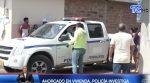 VIDEO: En Manabí encuentran ahorcado dentro de su vivienda, policía realiza investigaciones