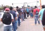 EN VIVO | Ciudadanos reportan largas filas para el uso del transporte público