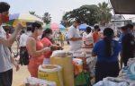 VIDEO | Feria de productos de primera necesidad se habilitó en Durán