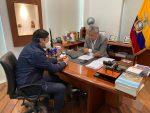 Alemania entrega ayuda a Ecuador, 100 mil pruebas y grupo de epidemiólogos llegarán al país