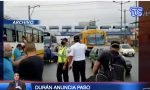 VIDEO|Durán anuncia paso de semáforo rojo a amarillo