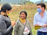 Gobierno Nacional impulsa el desarrollo agropecuario en Imbabura y Carchi