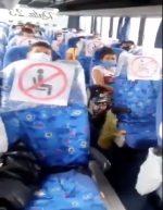 VIDEO|Estricto control de bioseguridad en buses intercantonales