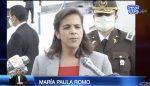 Ministra de Gobierno, María Paula Romo, se pronunció sobre a  avioneta accidentada en Perú