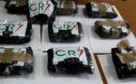 Italia: incautan droga con la 'firma' de CR7