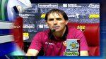 Guillermo Almada, destacó el rendimiento de Byron Castillo tras la victoria ante Aucas