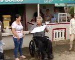 Presidente Moreno recorrió zonas afectadas por invierno