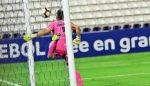 VIDEO   El arquero de Palestino se hizo el gol más insólito del año en la Copa Libertadores