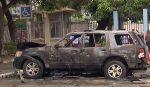 Confirman detonación de explosivo en carro parqueado en Universidad de Guayaquil