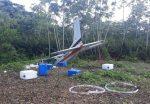 Encuentran narcoavioneta estrellada en la frontera ecuatoriana