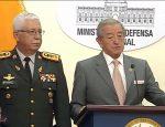 Presidente de la Asamblea y Ministro de defensa mantuvieron reuniones