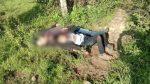 Hallan a niño migrante  junto al cadáver de su padre quien fue degollado