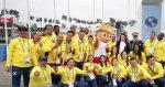 Equipo ecuatoriano tuvo ceremonia de bienvenida en Lima