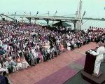 Presidente y alcaldesa participaron en sesión solemne