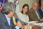 María Paula Romo dialoga sobre el acuerdo con los gobiernos locales para la seguridad a la ciudadanía