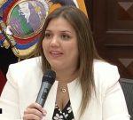 Vicepresidenta María Alejandra Vicuña liberada de funciones