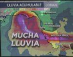 Dorian se aleja de Puerto Rico y amenaza las costas de Florida como un gran huracán