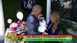 VIDEO   Vito Muñoz y Rosibel Zambrano presentaron a su hija desde su casa