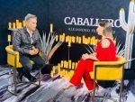 IMÁGENES EN EXCLUSIVA: Cynthia Raby entrevistó a Alejandro Fernández
