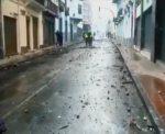Centro histórico de Quito gravemente afectado por manifestaciones