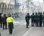 Protestas continuaron en Cuenca
