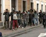 Manifestación indígena sin mayores incidentes