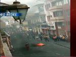 Heridos durante incidentes en Cuenca