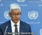 Portavoz de ONU recibió pedido de Ecuador para diálogo