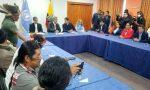 VIDEO | Mesa de diálogo entre el presidente Lenín Moreno y la CONAIE