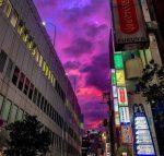 VIDEO| Cielo en Japón se tiñó de rosa antes de la llegada del ciclón Hagibis
