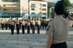 Mandatario agradeció a policías y militares por su labor durante las manifestaciones