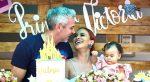 VIDEO | Fabiola Veliz le realizó el primer cumpleaños a su pequeña hija Victoria