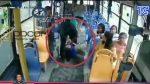 Ladrón agredió a una mujer en bus en Guayaquil